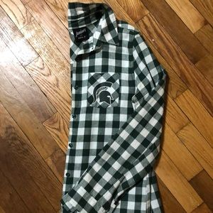 Tops - Button up flannel shirt